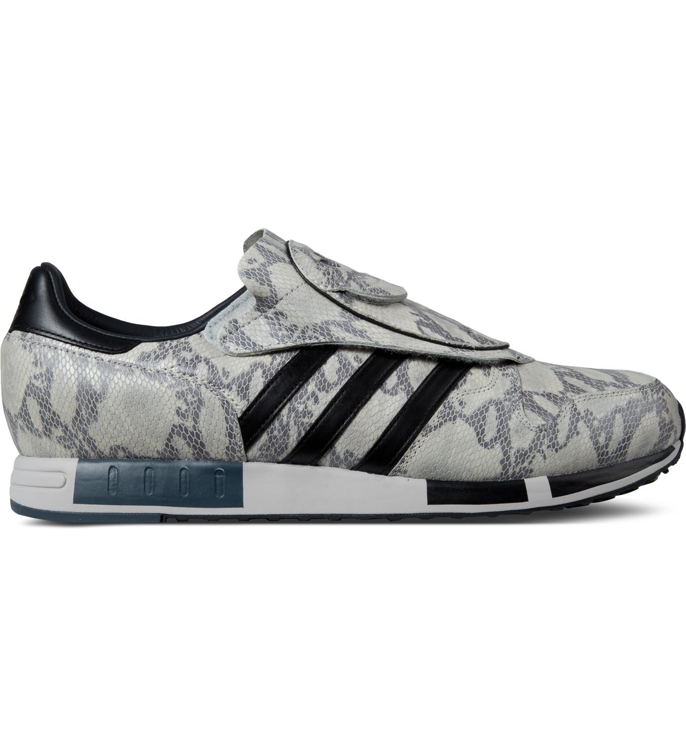 adidas originals white black grey micropacer og snakeskin