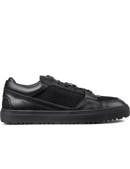 ETQ Black Mesh Low Top 3 Sneakers Picture