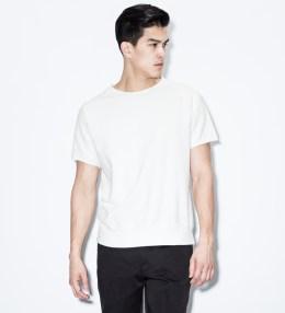 "VAINL ARCHIVE White ""Sam"" S/S Crewneck Sweater Picture"