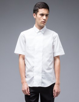 CARVEN Wide Placket S/S Shirt Picture