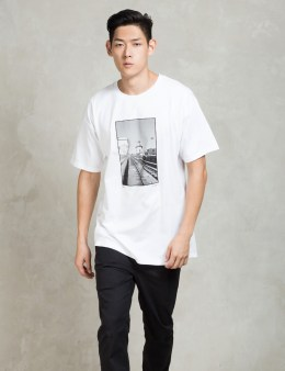 "HUF White Tobin Yelland ""mike Hernandez"" T-shirt Picture"