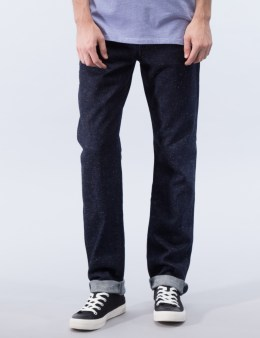 MAISON KITSUNE Japanese Slim Cut Denim Jeans Picture