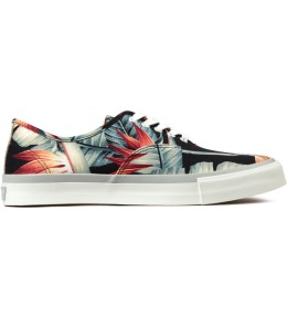 DELUXE Black Blooming Sneakers Picture