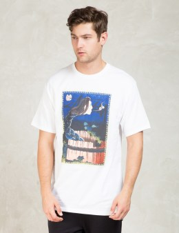 Stussy White Well Ghost T-Shirt Picture