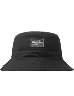 GRAND SCHEME Black Backwater Bucket Hat Picture