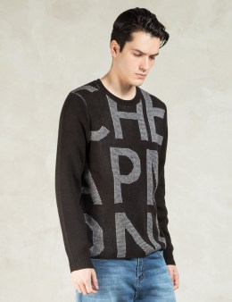 Cheap Monday Black L/S Norm Knit Sweater Picture