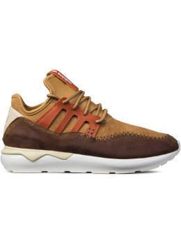 adidas Originals Brown Tubular Moc Runner Picture