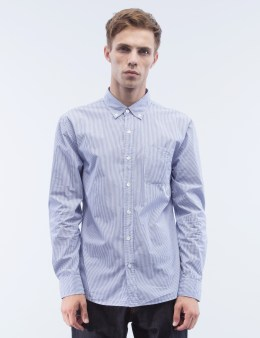 Denim by Vanquish & Fragment Broadcloth Button Down L/S Shirt Picture