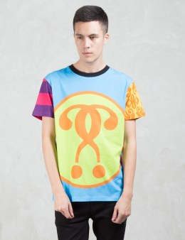 MOSCHINO Multi Fabric Patch S/S T-Shirt Picture