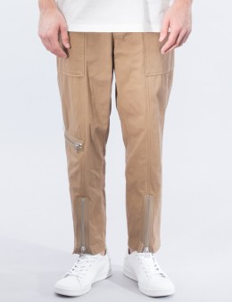 3.1 Phillip Lim Military Zipper Cropped Trousers Picture