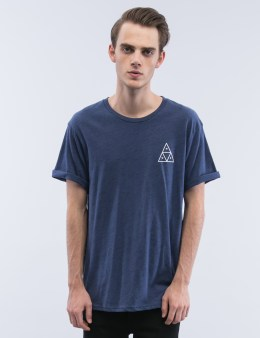 HUF Triple Triangle Streaky Heather S/S T-Shirt Picture