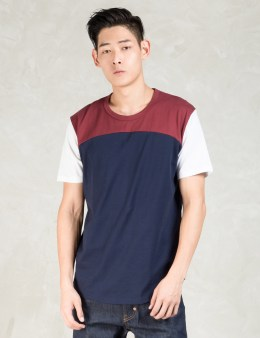 Aloye Red Round Bottom S/s T-shirt Picture