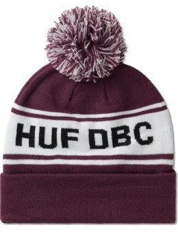 HUF Red Dbc Pom Beanie Picture