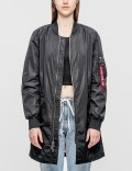Alpha Industries W MA-1 Long Jacket Picutre