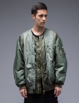 FACETASM Multi Zippers Bomber Jacket Picture