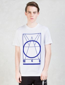 McQ Alexander McQueen Big McQ Logo S/S T-Shirt Picture