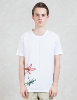 Harmony Tobias Flower Print S/S T-Shirt Picture