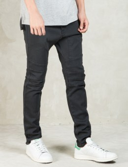 ZANEROBE Tough Black Scrambler Denim Picture