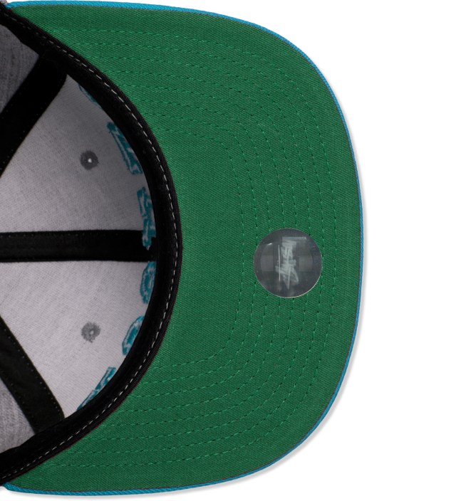 Stussy Turquoise 3D Arch Starter Cap