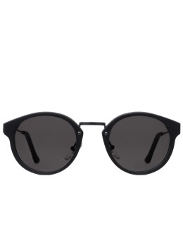 SUPER BY RETROSUPERFUTURE Panamá Black Matte Sunglasses Picture