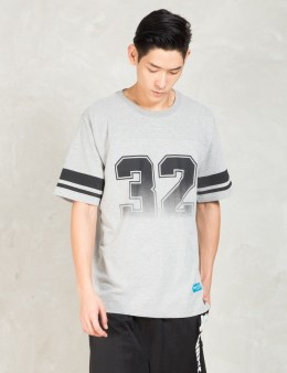 UNDEFEATED Grey Grade A Football T-Shirt Picture