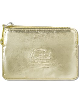 Herschel Supply Co. Gold /Silver Oxford Pouch Picture