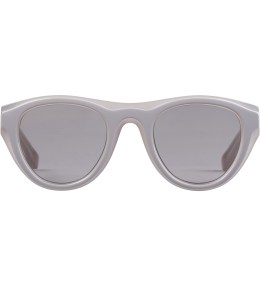 MYKITA Mykita x Maison Martin Margiela D-5 Grey/Light Grey MMDUAL003 Warm Grey Flash Sunglasses Picture