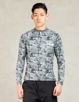 and wander Grey Rock Printed Zip T-shirt Picture