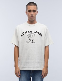 Human Made #1206 Cards S/S T-Shirt Picture