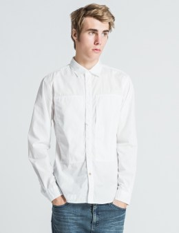 """DELUXE White """"Jerry"""" Shirt Picture"""