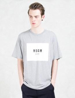 MSGM Box Logo S/S T-shirt Picture
