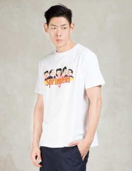 LAZY OAF White Springfeld T-Shirt Picture