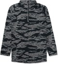 UNDEFEATED Black Camo Technical II Half Zip Jacket Picture
