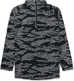UNDEFEATED Black Camo Technical II Half Zip Jacket Picture