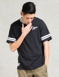 The Hundreds Black Savoy Ss Jersey Picture