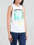 Stussy No. 4 Doodle Muscle T-Shirt Picture