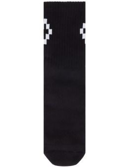MARCELO BURLON Cruz Shorts Socks Picture