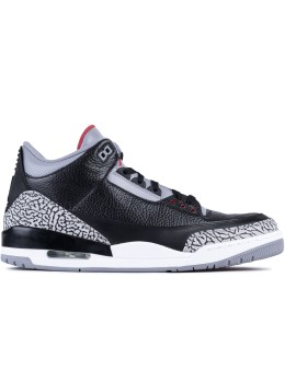 Jordan Brand Air Jordan 3 Black Cement 2011 Retro Picture