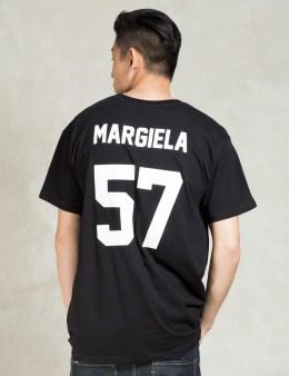 LES (ART)ISTS Black MARGIELA57 Football T-Shirt Picture