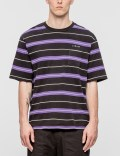 Stussy Alex Stripe S/S Crewneck T-Shirt Picture