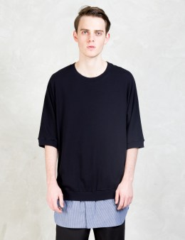 3.1 Phillip Lim Shirt Tail Layered S/S Pullover Shirt Picture