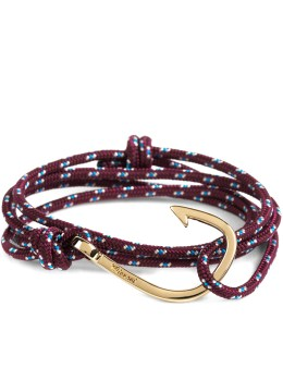Miansai Red Gold Plated Hook Rope Bracelet Picture