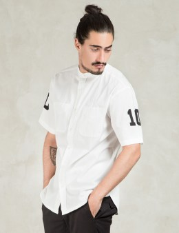 10.DEEP White Big 10 Botton Up Shirt Picture