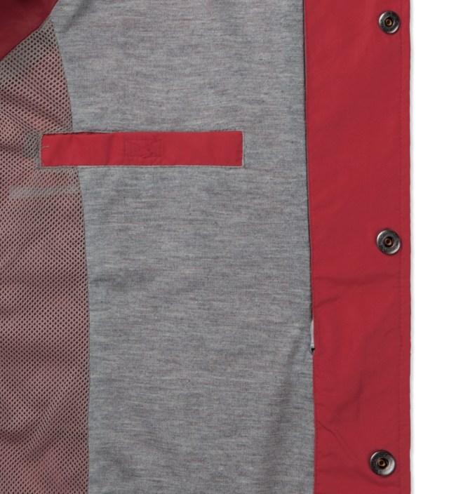 ICECREAM Chinese Red Cone Bar Coach Jacket