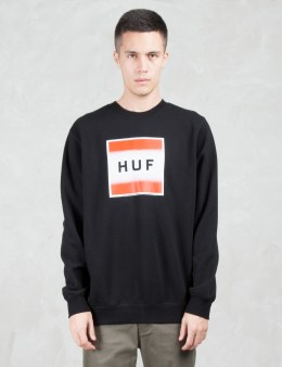 HUF Poster Box Logo Sweatshirt Picture