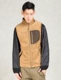 Manastash Brown Thermal Fleece Vest Picture