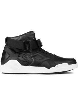MARCELO BURLON Black Block + Tongue Sneakers Picture