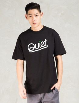 The Quiet Life Black Script T-shirt Picture