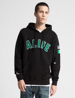 ALIFE Black Teflon Don Pullover Picture