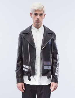 GENERAL IDEA Leather Biker Jacket Picture